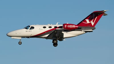 F-HBIR - Cessna 510 Citation Mustang - Wijet