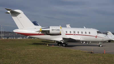 9H-OWL - Bombardier CL-600-2B16 Challenger 605 - TAG Aviation