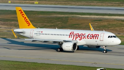 A picture of TCNCF - Airbus A320251N - Pegasus Airlines - © Alp AKBOSTANCI