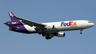 N584FE - McDonnell Douglas MD-11(F) - FedEx