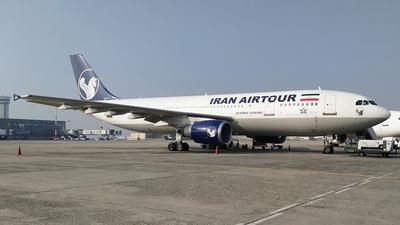 EP-MNU - Airbus A300B4-605R - Iran Air Tours