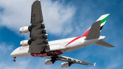 A6-EDW - Airbus A380-861 - Emirates