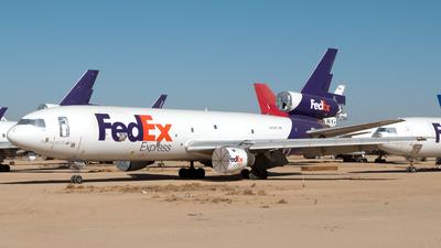 N554FE - McDonnell Douglas MD-10-10(F) - FedEx