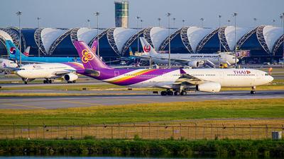 HS-TEU - Airbus A330-343 - Thai Airways International