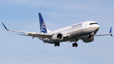 HP-9913CMP - Boeing 737-9 MAX - Copa Airlines