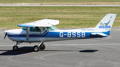G-BSSB - Cessna 150L - Fly Wales