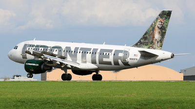 N910FR - Airbus A319-111 - Frontier Airlines