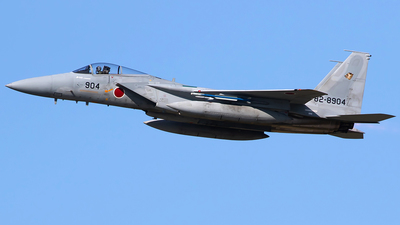 82-8904 - McDonnell Douglas F-15J Eagle - Japan - Air Self Defence Force (JASDF)
