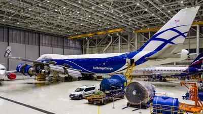 A picture of VPBIG - Boeing 74746NF(ER) - AirBridgeCargo Airlines - © Gleb Borzyakov - AviMedia