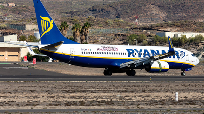 A picture of EIEVV - Boeing 7378AS - Ryanair - © Stefan Kronqvist
