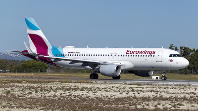 A picture of DAIZT - Airbus A320214 - Eurowings - © Edgar Baptista