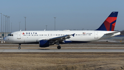 A picture of N374NW - Airbus A320212 - Delta Air Lines - © DJ Reed - OPShots Photo Team