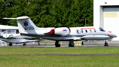 A picture of N73CK - Learjet 35A - Kalitta Charters - © Agustin Anaya