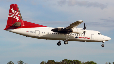 A picture of HP1606PST - Fokker 50 - Air Panama - © George Lohmann