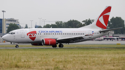 OK-EGO - Boeing 737-55S - CSA Czech Airlines