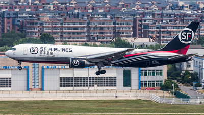 B-7593 - Boeing 767-338(ER)(BCF) - SF Airlines