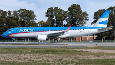 LV-CPI - Embraer 190-100IGW - Aerolíneas Argentinas