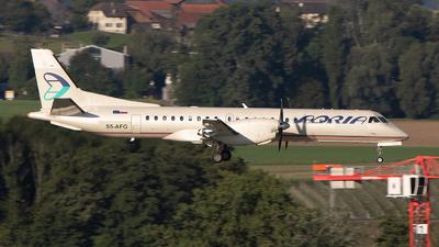 A picture of S5AFG - Saab 2000 - Adria Airways - © Freek Blokzijl