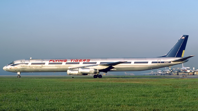 N790FT - Douglas DC-8-63(CF) - Flying Tigers