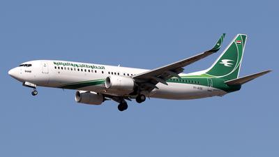 YI-ASE - Boeing 737-81Z - Iraqi Airways