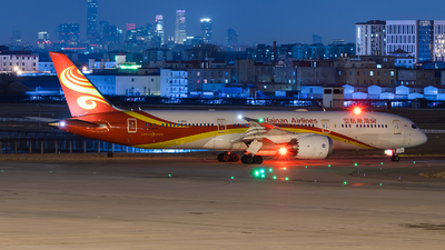 A picture of B20AL - Boeing 7879 Dreamliner - Hainan Airlines - © Lazy Clutch