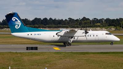 A picture of ZKNEG - De Havilland Canada Dash 8300 - Air New Zealand - © Cameron Matthews