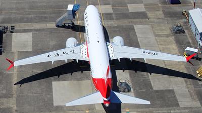 B-20AK - Boeing 737-8 MAX - Shanghai Airlines