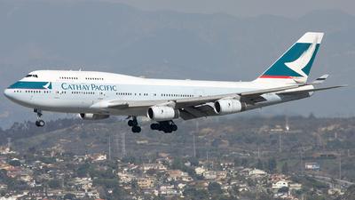 B-HOV - Boeing 747-467 - Cathay Pacific Airways