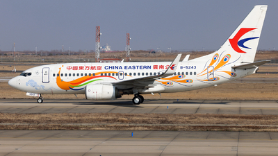 A picture of B5243 - Boeing 73779P - China Eastern Airlines - © Jiaming