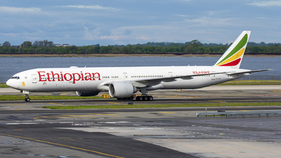 A picture of ETAPY - Boeing 77736N(ER) - Ethiopian Airlines - © Mark Szemberski