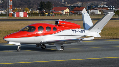 T7-HGW - Cirrus Vision SF50 G2 - Private