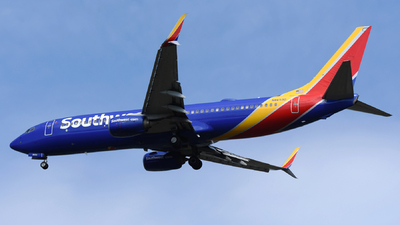 A picture of N8659D - Boeing 7378H4 - Southwest Airlines - © DJ Reed - OPShots Photo Team
