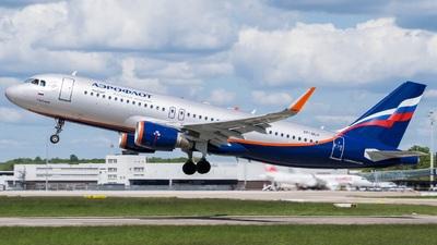 VP-BLH - Airbus A320-214 - Aeroflot