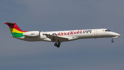 9G-AFK - Embraer ERJ-145LI - Africa World Airlines