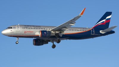 A picture of VPBIY - Airbus A320214 - Aeroflot - © SN7756