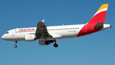 A picture of ECIZR - Airbus A320214 - Iberia - © a.m.