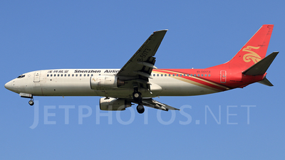 A picture of B5073 - Boeing 7378Q8 - [30680] - © Jack  Li