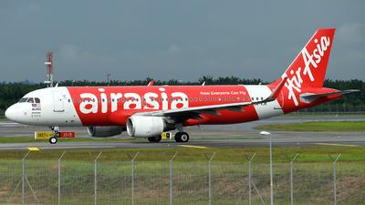 9M-AJK - Airbus A320-216 - AirAsia