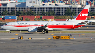 A picture of N915NN - Boeing 737823 - American Airlines - © Xiamen Air 849 Heavy