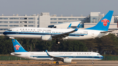 A picture of B5586 - Boeing 73786J - China Southern Airlines - © Jack  Li
