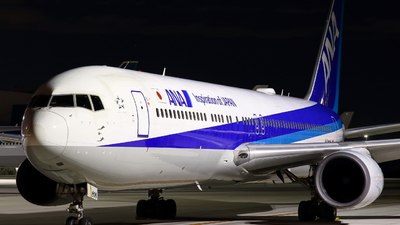 A picture of JA606A - Boeing 767381(ER) - All Nippon Airways - © Seo Masuda