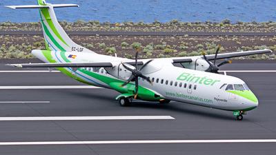 A picture of ECLGF - ATR 72500 - Binter Canarias - © Photography  Jc  la Palma