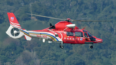NA-106 - Eurocopter AS 365N3 Dauphin 2 - Taiwan - National Airborne Service Corps (NASC)