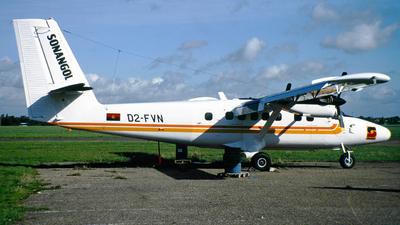 D2-FVN - De Havilland Canada DHC-6-300 Twin Otter - Sonangol