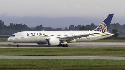 N27903 - Boeing 787-8 Dreamliner - United Airlines