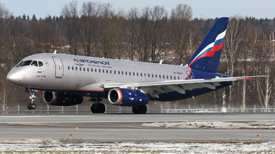 A picture of RA89108 - Sukhoi Superjet 10095B - Aeroflot - © ShipSash