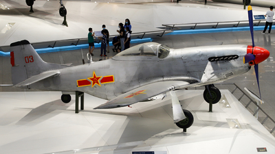 03 - North American P-51D Mustang - China - Air Force