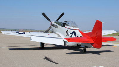 N551D - North American P-51D Mustang - Private