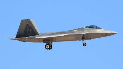 08-4158 - Lockheed Martin F-22A Raptor - United States - US Air Force (USAF)
