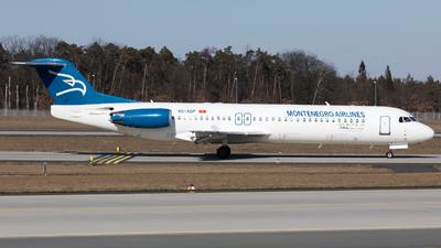 4O-AOP - Fokker 100 - Montenegro Airlines